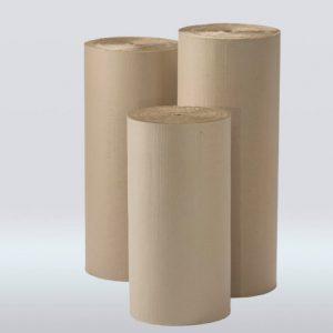 Bobinas de cartón corrugado