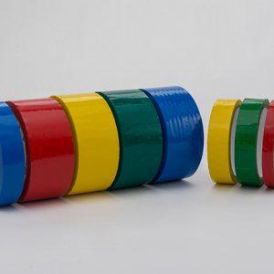 Cintas adhesivas de colores