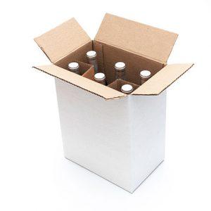 Caja para seis vinos